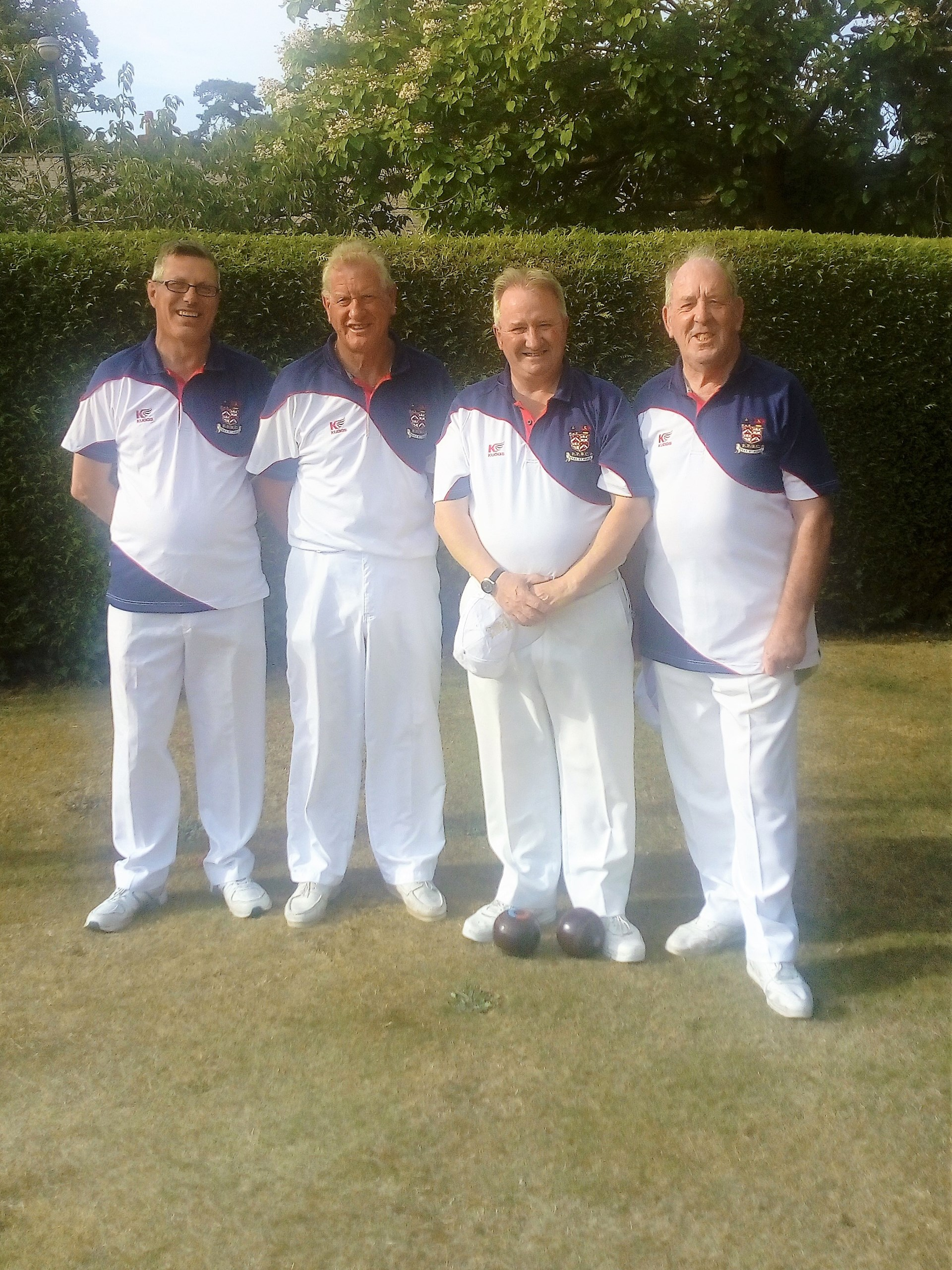 Bowls Hampshire Senior Fours Winners 2019