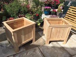 The RWB Shed Timber & Planters