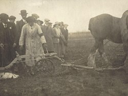 May Bocock Women's Ploughing Match 1916