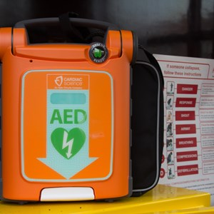 Weston Parish Council, Nottinghamshire Community Defibrillator