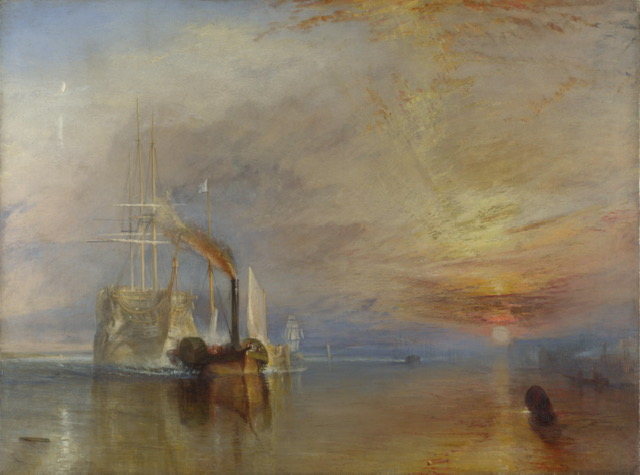 The Fighting Temeraire, 1838, J.M.W. Turner