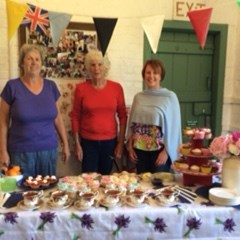 Abdon Royal birthday coffee morning