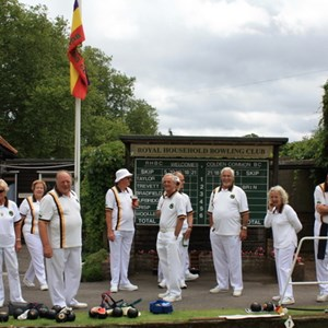 Colden Common Bowls Club Bowling at Winsor.