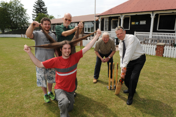 Beaumond House Cricket Day 2015 promotional pic courtesy The Newark Advertiser