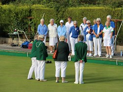 Bovey Tracey Bowling Club Ladies Singles Final