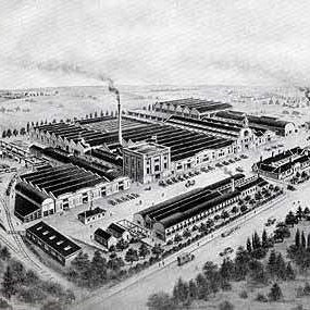 Thornycroft works in Basingstoke