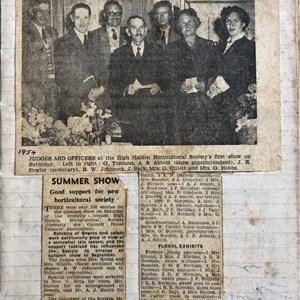 PRESS CUTTING FROM FIRST SHOW