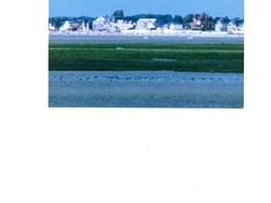 View of St Valery-sur-Somme from the bay