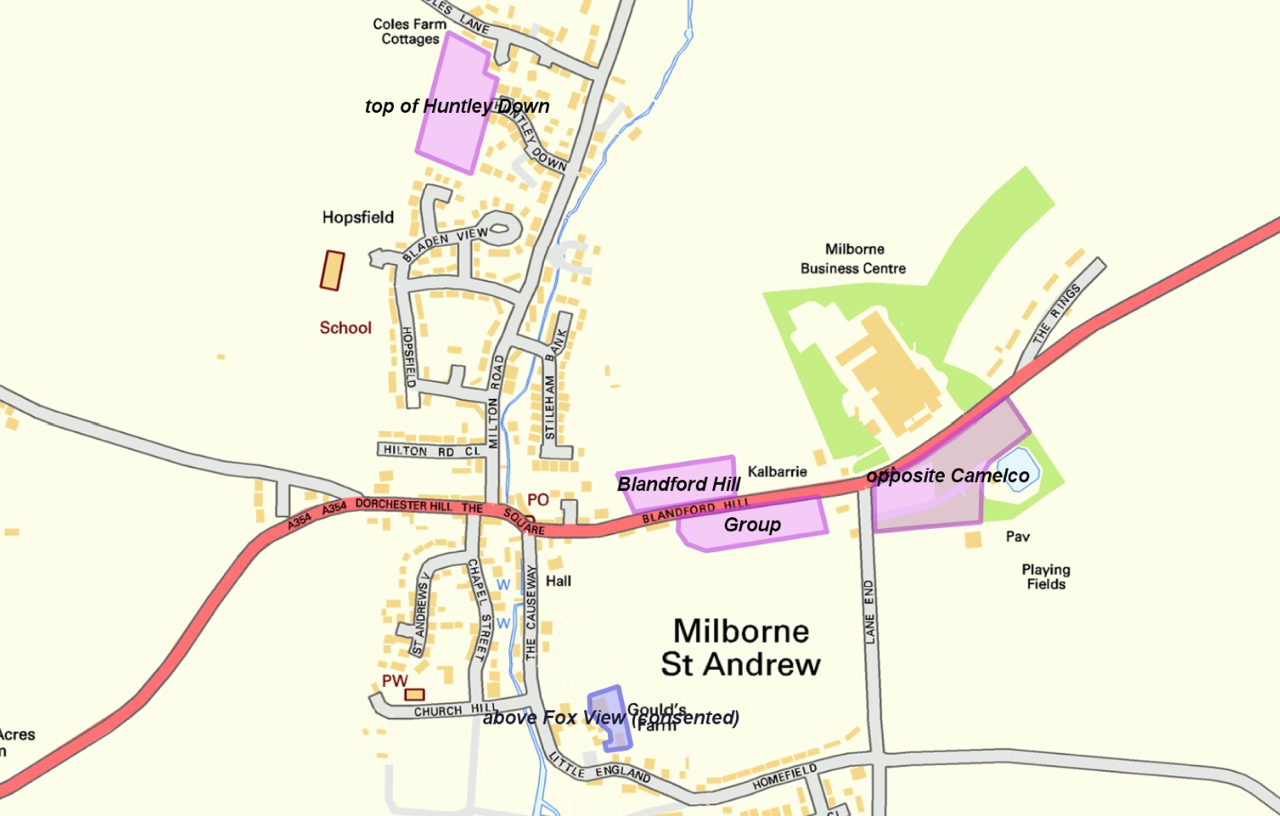 Milborne St Andrew Parish Council Consultation Update