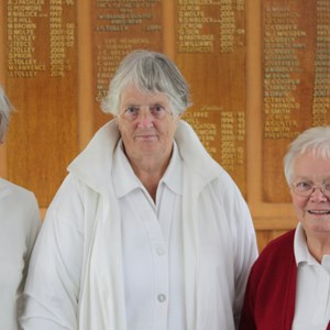 Ladies 2 wood finalists