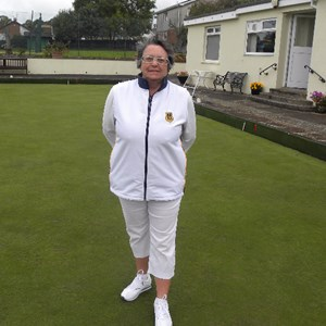 Chris Davies Ladies Two Wood Singles Winner