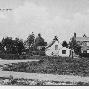 West side of Village Green prior to 1920