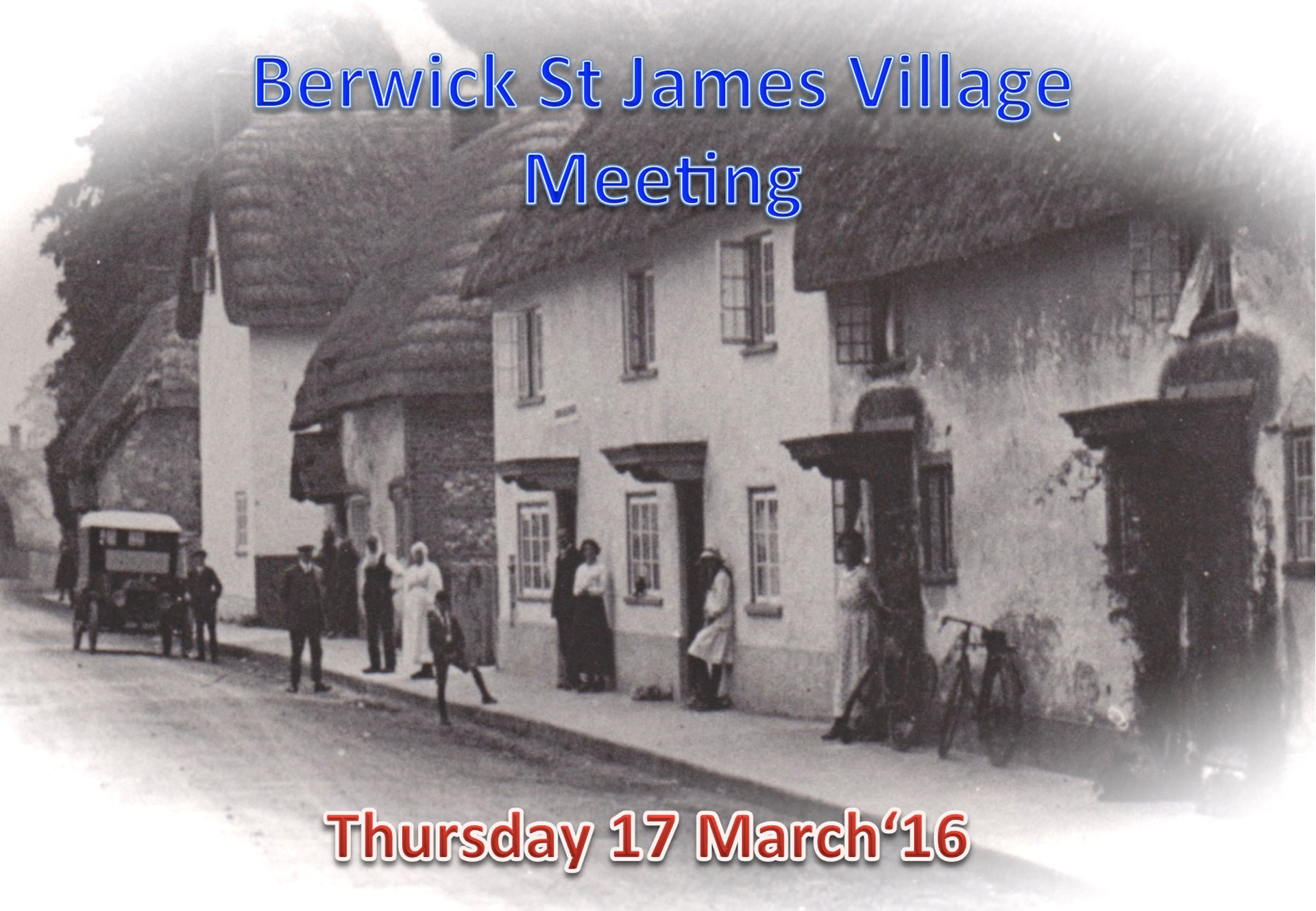 Berwick St James Parish Community 17 March '16