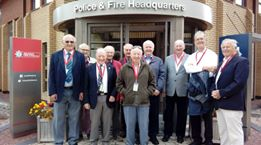 Visit to Police HQ Portishead