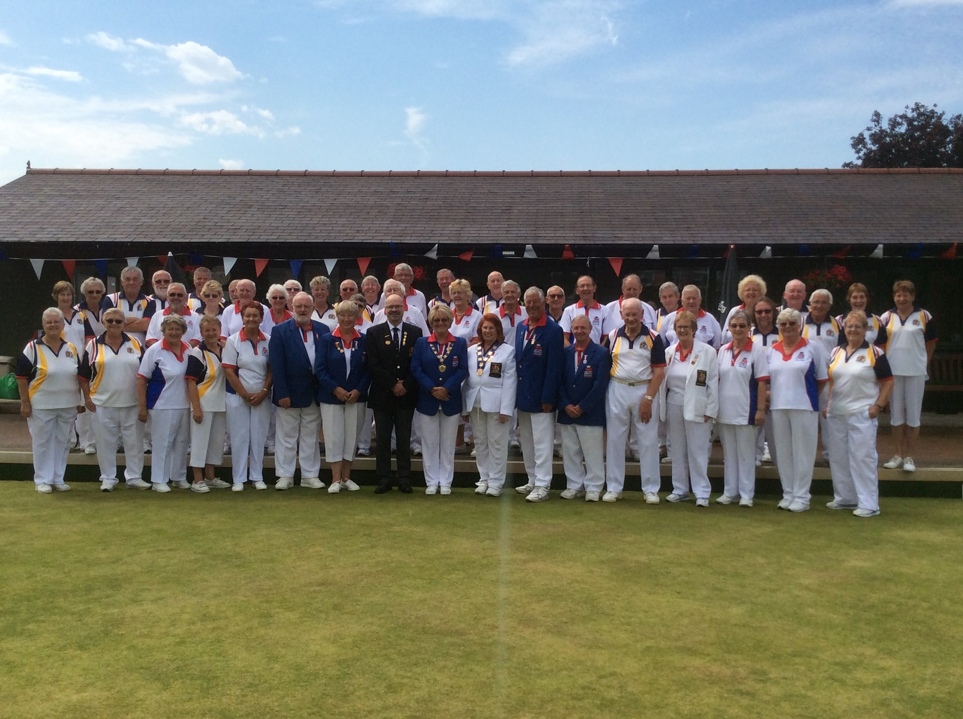 BOWLS ENGLAND visit to KHBC July 2017