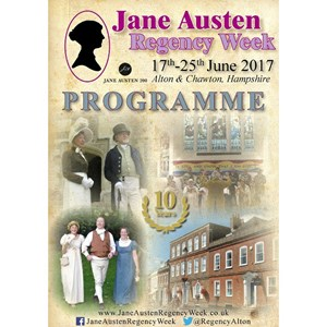 2017 Jane Austen Regency Week Programme