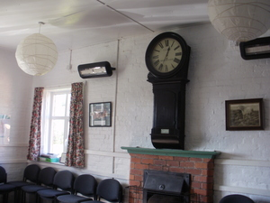 Village Hall clock