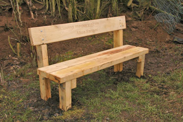 Bench 5: Swan Farm, Little Wenlock Parish Council