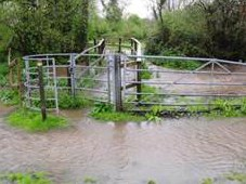 Flooding Photos, Crookham Village Neighbourhood Plan