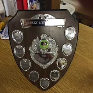 Laurie Warrier Shield 2016 won by the men