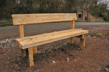 Bench 3: The Wells, Little Wenlock Parish Council