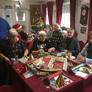 Swindon West End Bowls Club 2018 Christmas Lunch
