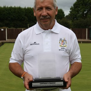 Captains Trophy winner Jim McDonald