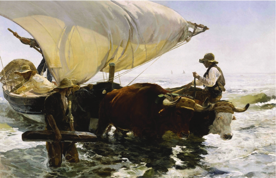 Berwick St James Parish Sorolla the Spanish Master of Light