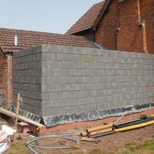 Abdon Village hall extension