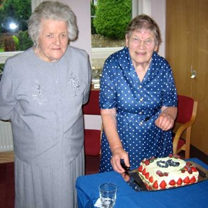 Dot and Gwen's memories, Little Wenlock Parish Council