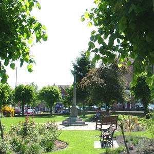 Summer in Memorial Gardens. credit: Jan Lancaster