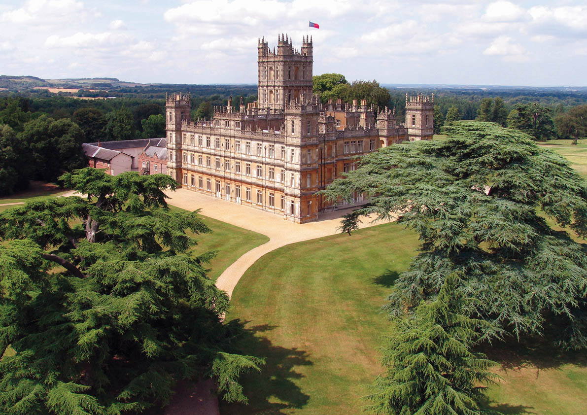 The stunning Highclere Castle. Photographs are used with Permission from Highclere Castle. Copyright Highclere Castle.