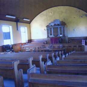 Interior Inghamite Chapel, Salterforth