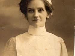 Nellie Hunt, VAD nurse during WW1