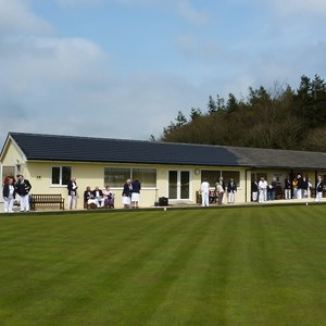 Morchard Bishop Bowling Club Clubhouse: opened April 2012