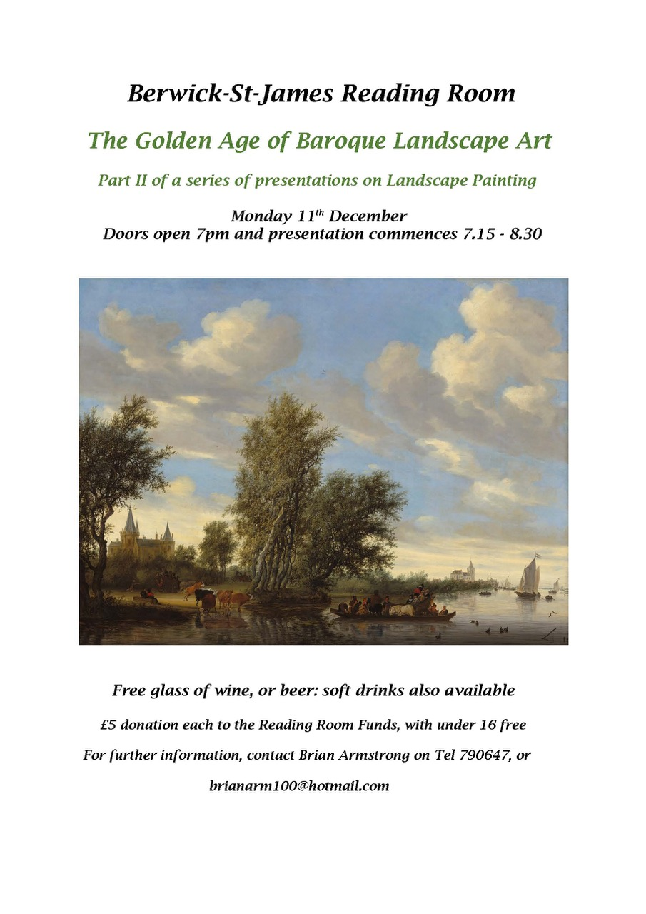 Berwick St James Parish Golden Age of Baroque Lan