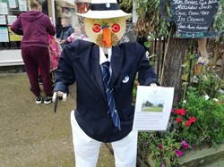 Whitstable Bowls Club contribution to Tankerton High Street Scarecrow