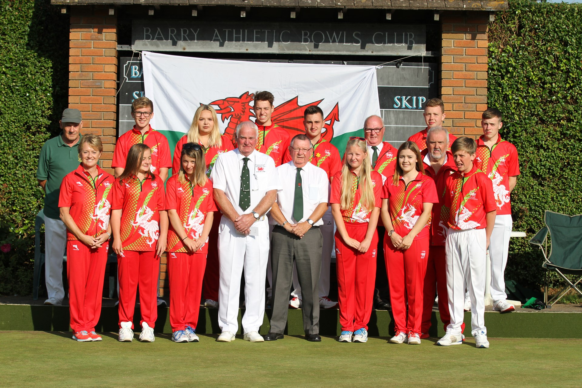 Wales Under 18 Test Squad