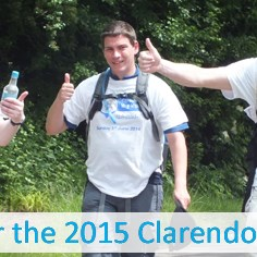 Pre-register for the 2015 Clarendon Way Walk