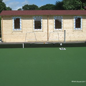 Lockswood Bowling Club New Changing Cabin July 2017