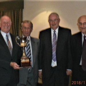 Winners 2018 Yorkshire Over 65's Fours. Alan Smith, John Smurthwaite David Mitchell, Malcolm Hartley.