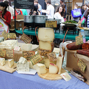 Local cheeses - London Farmers Market