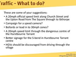 Hurstbourne Tarrant Parish Traffic and the A343