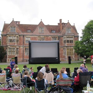 Open Air Cinema at Shaw House