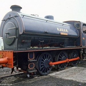 WD197 Sapper (Hunslet Austerity 0-6-0ST) - now No.25 'Northiam'
