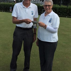 Elsdon Metcalfe Pairs Winners 2019 Malcolm Hartley and Judith Bish