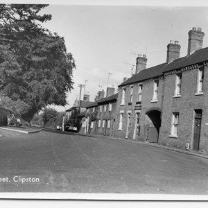 Church Lane 1950's