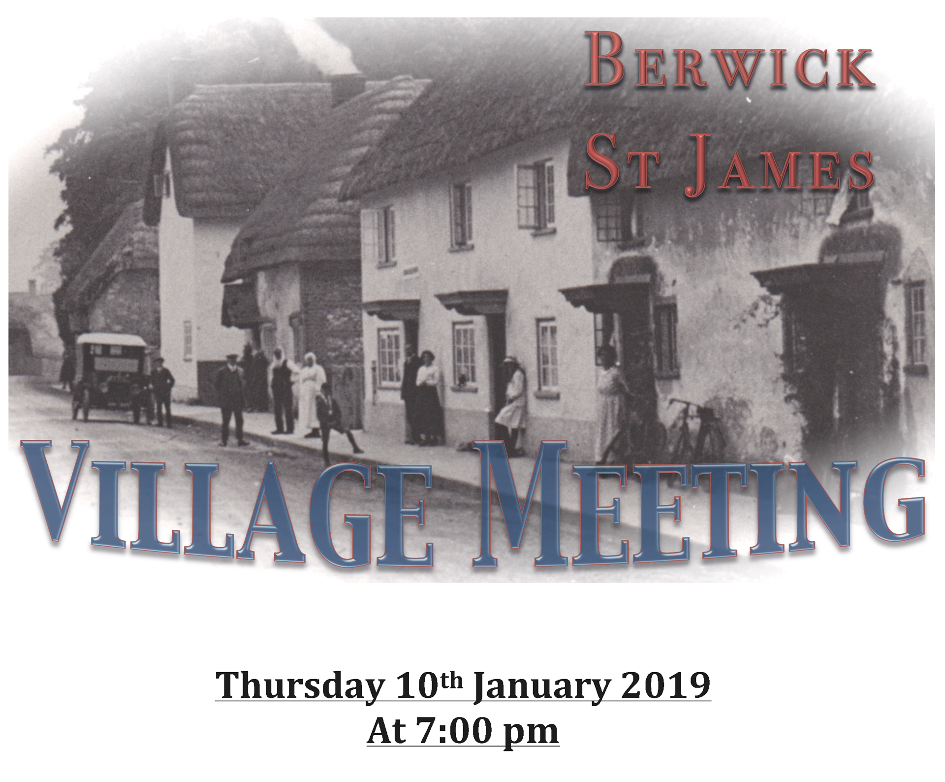 Berwick St James Parish 10th January 2019
