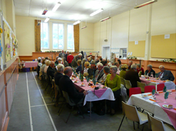 The annual Harvest lunch, held every October.