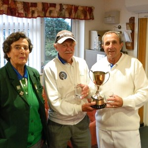 Graham Clements & Mike Sampson Section 8 Grater Pairs Winners